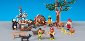 Playmobil - 6464 - Robber's Feast