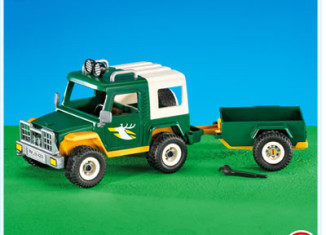 Playmobil - 7472 - Forest truck