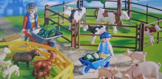 Playmobil - 4069-ger - Grazing Animals