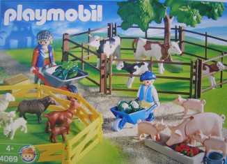 Playmobil - 4069-ger - Grazing Animals