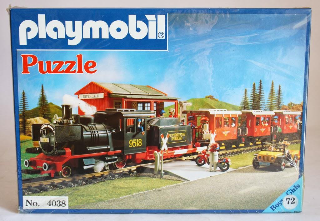 Playmobil set 4038 lyr train klickypedia - Train playmobil ...