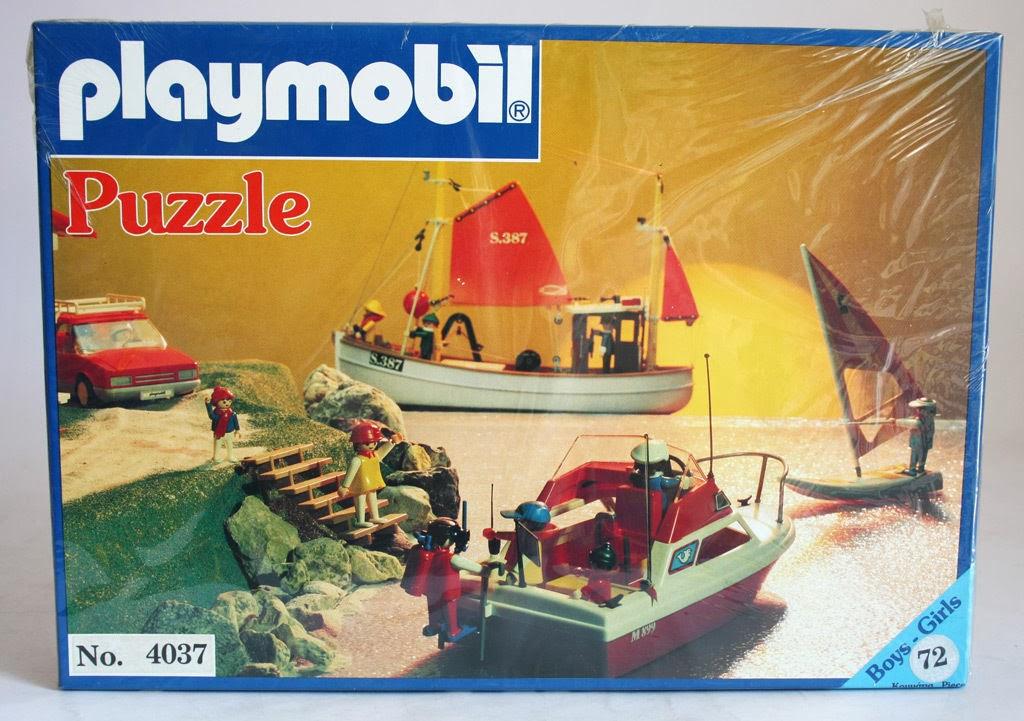 Playmobil 4037-lyr - sea theme - Box