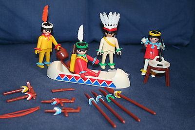 Playmobil 23.79.8-trol - 4 Indians - Back