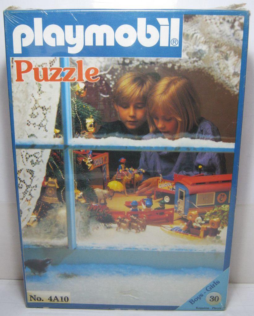Playmobil 4A10-lyr - Circus - Box