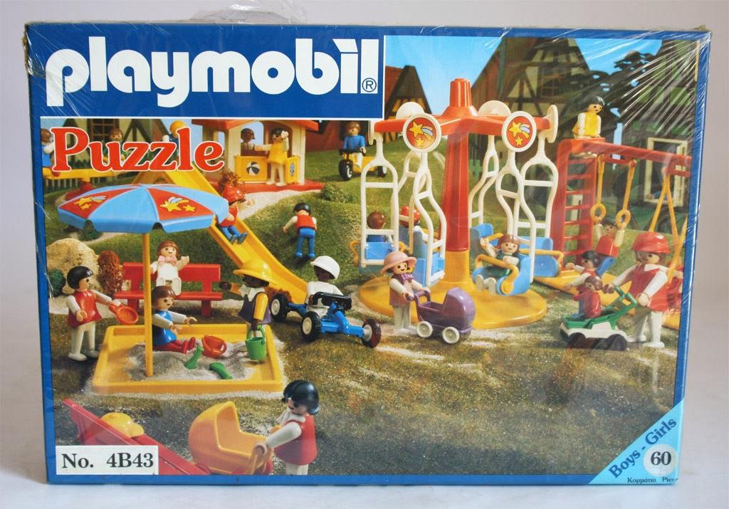 Playmobil 4B43-lyr - Playground - Box