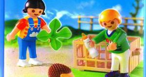 Playmobil - 4972 - Children and Hedgehogs