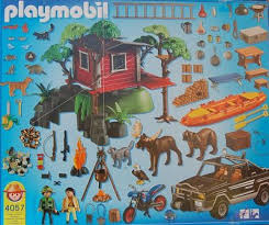 Playmobil 4057 - Treehouse - Back