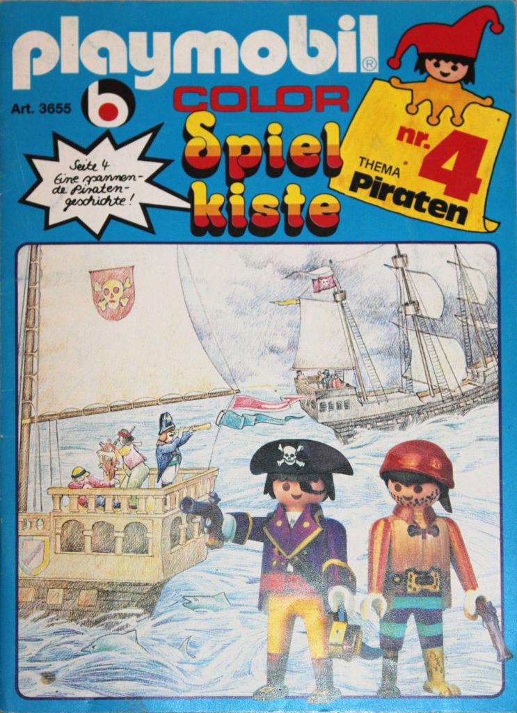 Playmobil 3655s1 - Toy-box No. 4 - Pirates - Back