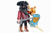 Playmobil - 6433 - Capitaine pirate avec carte au trésor
