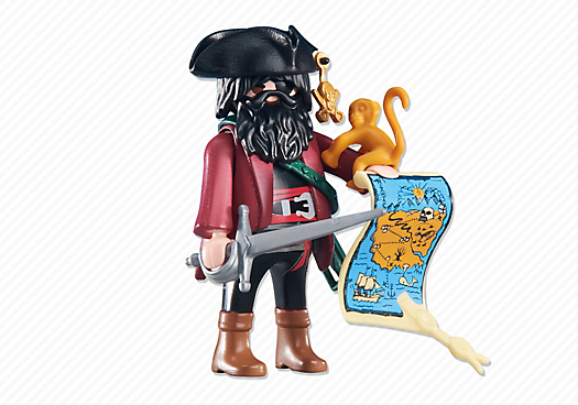 playmobil set: 6433 - pirate captain - klickypedia