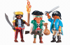 Playmobil - 6434 - 3 pirates