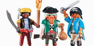 Playmobil - 6434 - 3 pirates