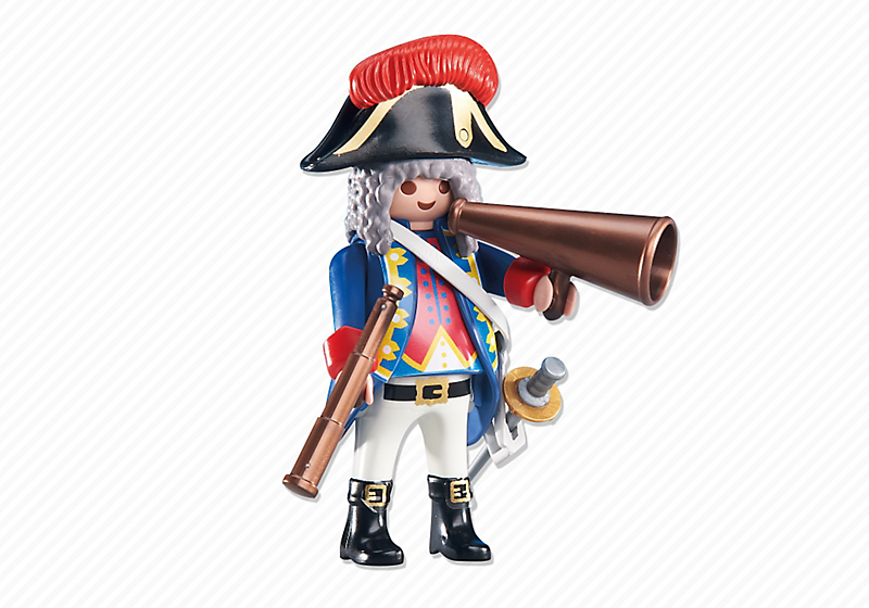 Playmobil 6435 - Soldiers Captain - Box