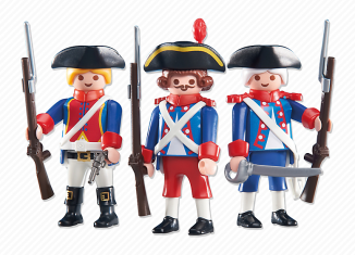 Playmobil - 6436 - 3 soldiers