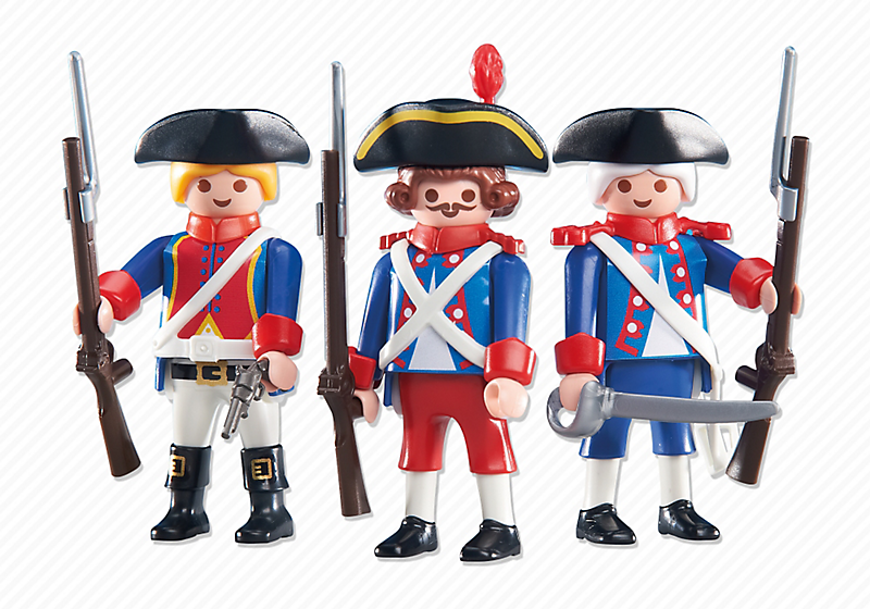 Playmobil 6436 - 3 soldiers - Box
