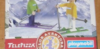 Playmobil - 0000v2-esp - Telepizza Give-away Skiers