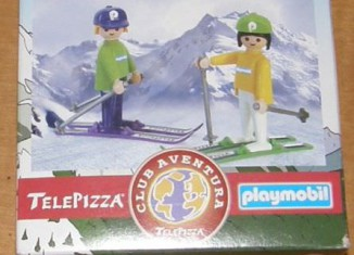 Playmobil - 0000v2-esp - Telepizza Give-away Skiers