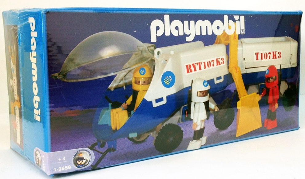 Playmobil 1-3559-ant - Space trailer - Box