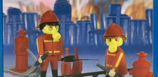 Playmobil - 1-9507-ant - 2 firemen