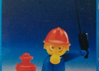 Playmobil - 13367-aur - Fireman