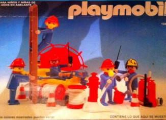 Playmobil - 13491-aur - 4 firemen
