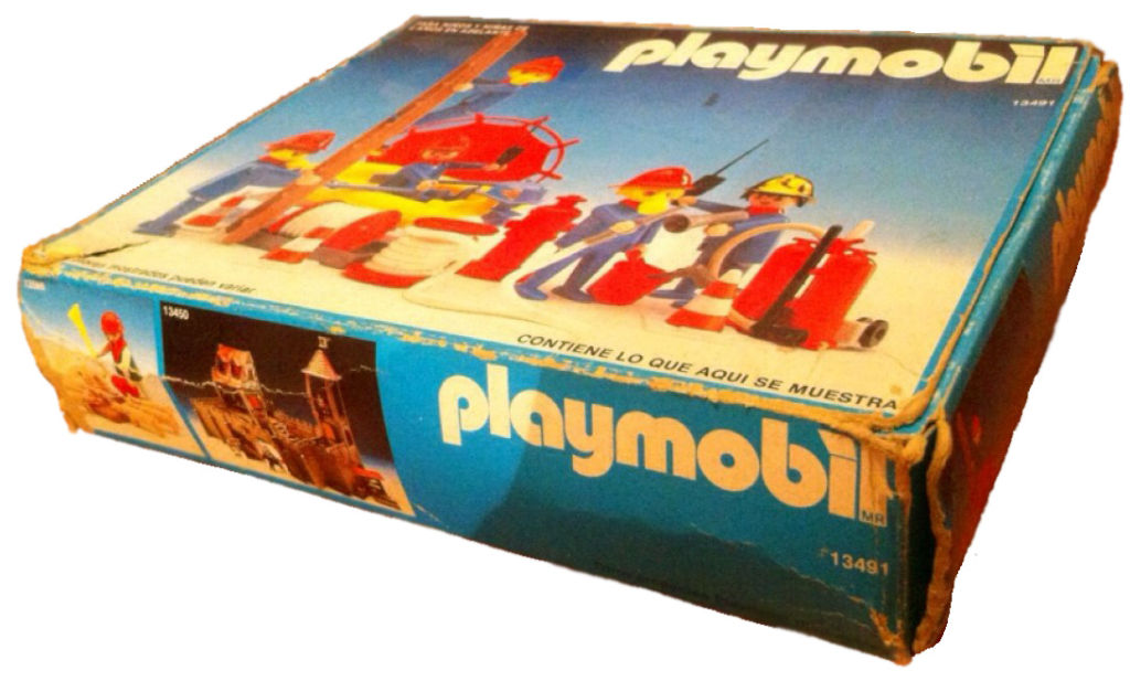 Playmobil 13491-aur - 4 firemen - Box