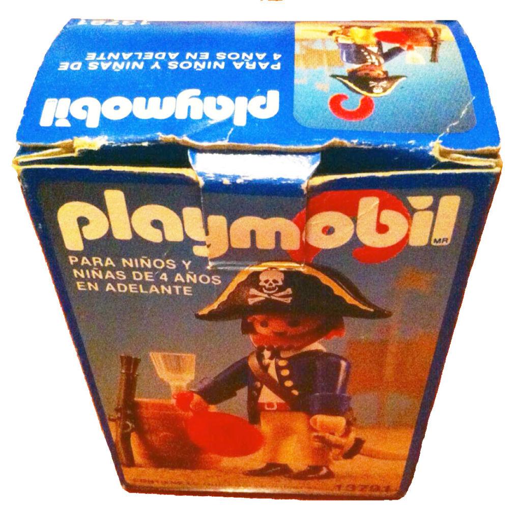 Playmobil 13791-aur - pirate with barrel - Box