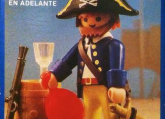 Playmobil - 13791-aur - pirate with barrel