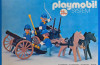 Playmobil - 23.24.4-trol - US Artillery Cannon and Cart
