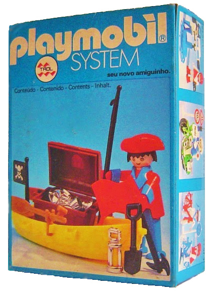 Playmobil 23.57.0-trol - pirate / rowboat - Box