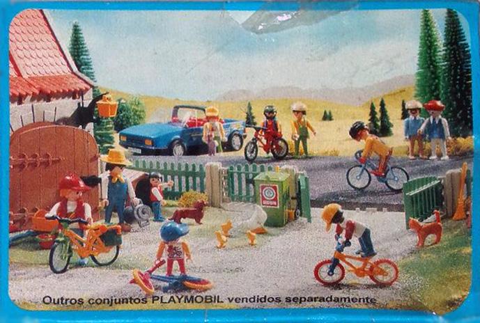 Playmobil 30.12.02-est - cyclist - Back