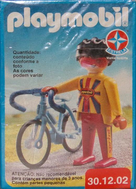Playmobil 30.12.02-est - cyclist - Box