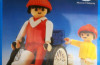 Playmobil - 30.14.02-est - man in a wheelchair and child