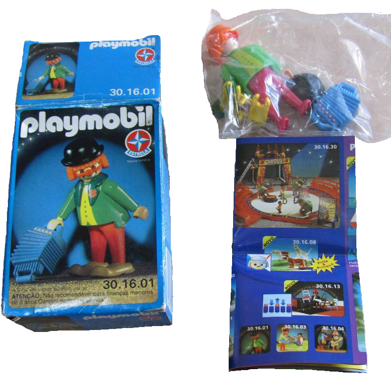 Playmobil 30.16.01-est - clown - Back