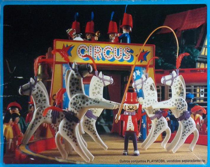 Playmobil 30.16.10-est - horse trainer - Back