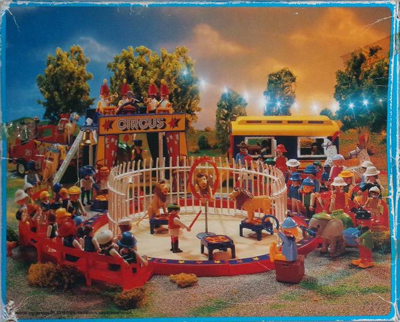 Playmobil 30.16.11-est - lion tamer - Box