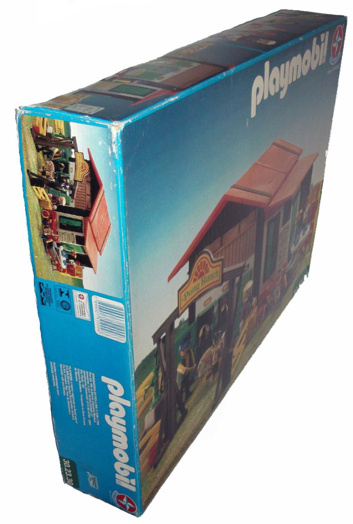 Playmobil 30.23.30-est - Pony Ranch - Box