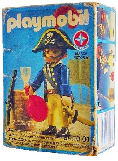Playmobil 30.10.01-est - pirate / rum barrel - Box
