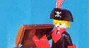 Playmobil - 3385-ant - pirate / treasure chest