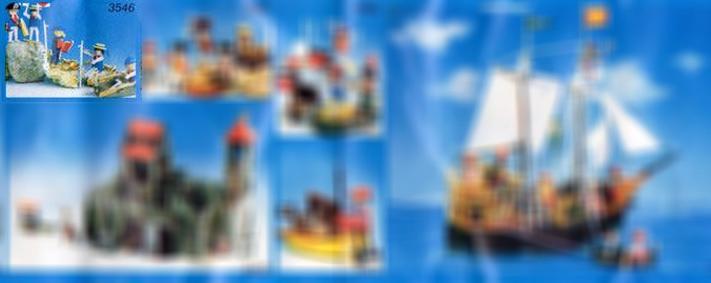 Playmobil 3546-lyr - sailors - Box