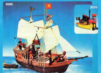 Playmobil - 3550-ant - Pirate Ship
