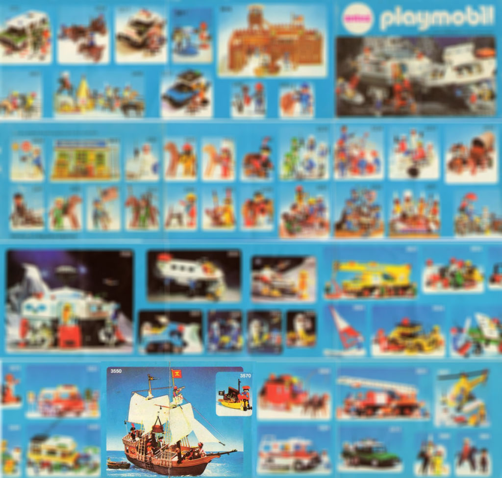 Playmobil 3550-ant - Pirate Ship - Box