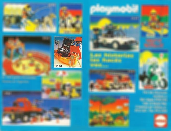 Playmobil 3570v3-ant - pirate/rowboat - Box