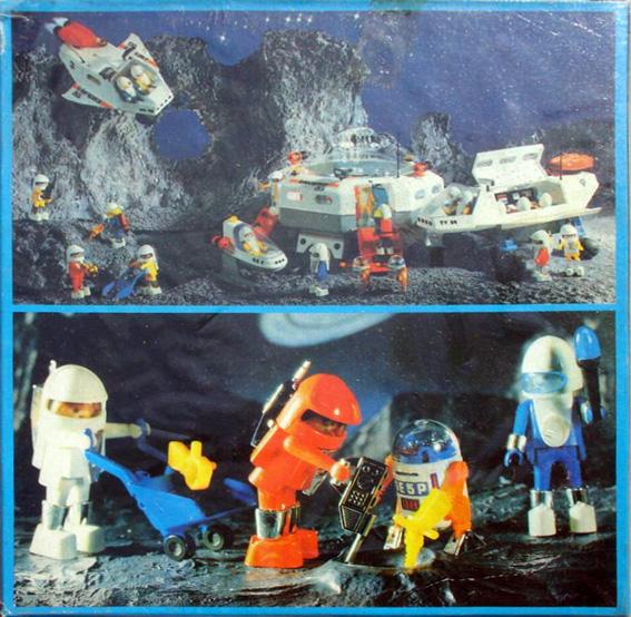 Playmobil 3590-ant - 2 astronauts - Back
