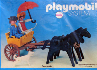 Playmobil - 3749s1-ant - Curricle