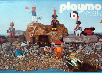 Playmobil - 3L21-lyr - 7 pirates
