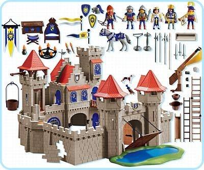 Playmobil 3268s2 - Knight's Empire Castle - Back