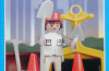 Playmobil - 9604-ant - white road worker