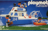 Playmobil - 9751-mat - police boat