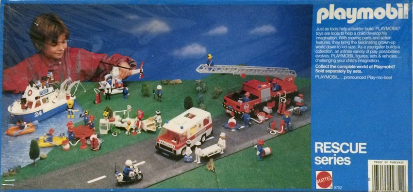 Playmobil 9752-mat - fire truck - Box